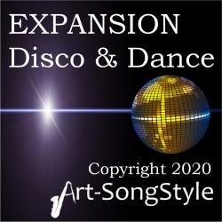Disco & Dance Voice & Drums Expansion Pack for PSR - SX700